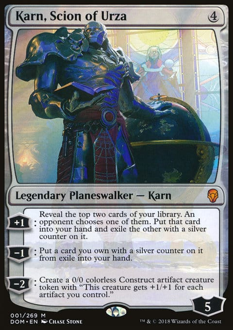 Karn, Discendente di Urza - Magictime.it