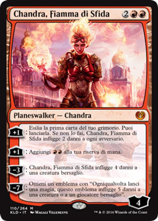 Chandra, Fiamma di Sfida - Magictime.it