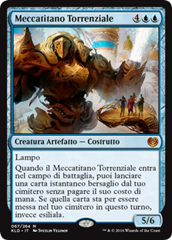 Meccatitano Torrenziale - Magictime.it